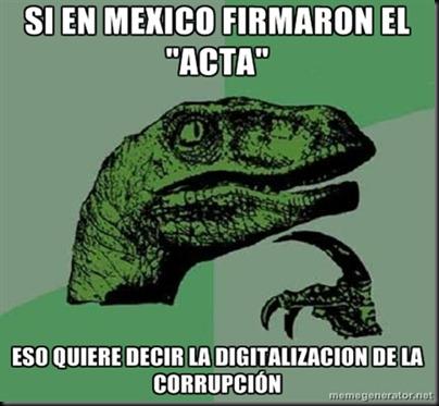 ACTA filoso Raptor